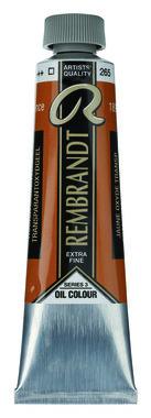 Rembrandt Olieverf 40 ml nr.  265 TransparantOxydGeel
