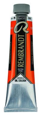 Rembrandt Olieverf 40 ml nr.  266 PermanentOranje