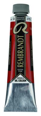 Rembrandt Olieverf 40 ml nr.  273 TransparantOxydOranje