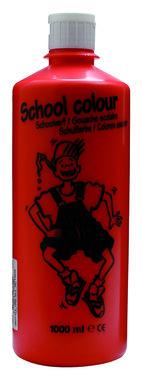 Schoolverf (Gouache) 1000 ml nr. 301 LichtRood