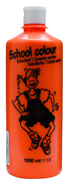 Schoolverf (Gouache) 1000 ml nr. 235 Oranje