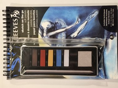 Reeves sketch on the go Soft pastels