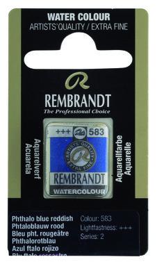 Rembrandt Aquarelverf napje nr. 583 BleuPhtaloRouge