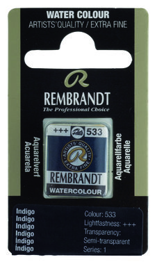 Rembrandt Aquarelverf napje nr. 533 Indigo