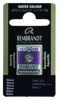 Rembrandt Aquarelverf napje nr. 532 Mauve