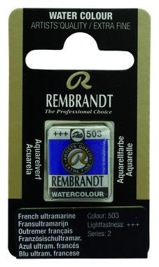 Rembrandt Aquarelverf napje nr. 503 Outremer(FransUltramarijn)