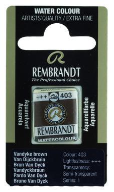 Rembrandt Aquarelverf napje nr. 403 VanDijcksBruin