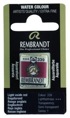 Rembrandt Aquarelverf napje nr. 339 EngelsRood