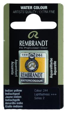 Rembrandt Aquarelverf napje nr. 244 IndischGeel