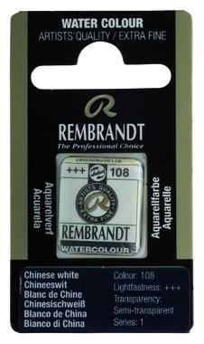 Rembrandt Aquarelverf napje nr. 108 Chineeswit
