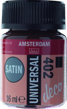 Amsterdam Deco Universal Satin 16 ml Flacon 402 DonkerBruin