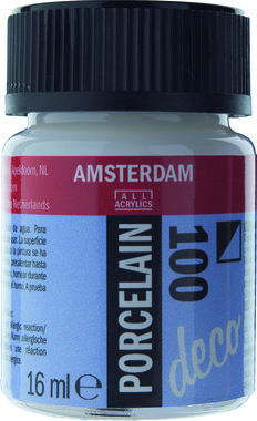 Amsterdam Deco Porcelein 16 ml Flacon 100 Wit