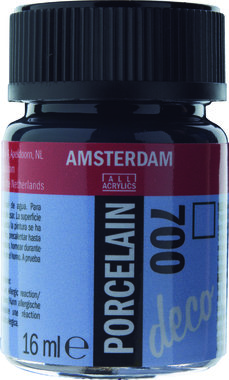 Amsterdam Deco Porcelein 16 ml Flacon 700 Zwart
