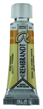 Rembrandt Aquarelverf nr 234 Sienna Naturel tube 5 ml