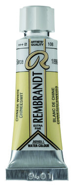 Rembrandt Aquarelverf nr 108 Chinees Wit tube 5 ml