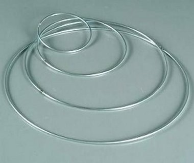 Ring metaal 4mm - 40 cm