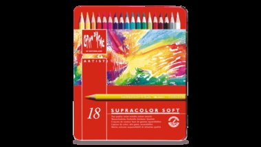 SUPRACOLOR® Soft Aquarelle – Assortment of 18 colours