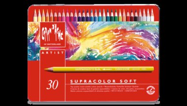 SUPRACOLOR® Soft Aquarelle – Assortment of 30 colours