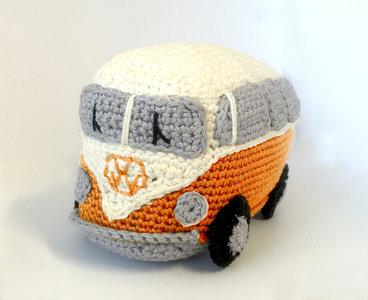 HardiCraft  Haakpakket VW Busje Oranje