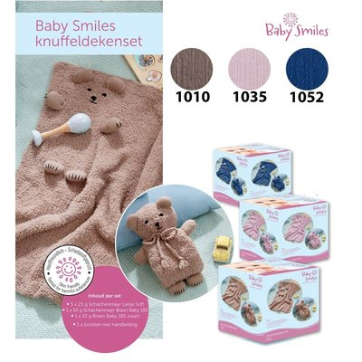 Baby Smiles Knuffeldekenset 1010 Camel