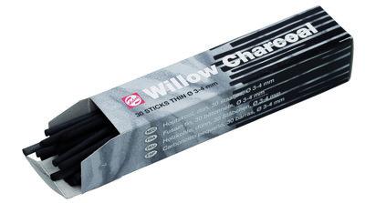 Talens Houtskool Dun 30 staafjes 3-4mm