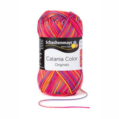 Schachenmayr Catania Color 205 Roze/Blauw/Oranje color