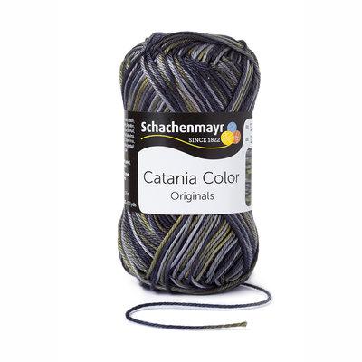 Schachenmayr Catania Color 210 Groen/Grijs/Zwart Color