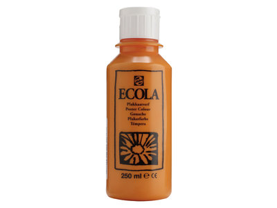 Ecola (Talens Plakkaatverf) 250 ml nr. 235 Oranje