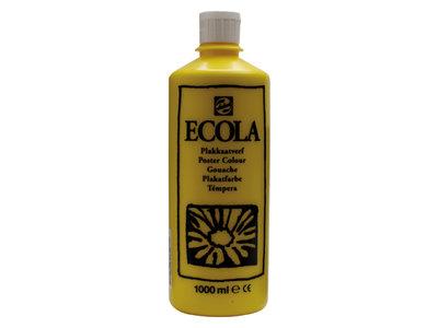 Ecola (Talens Plakkaatverf) 1000 ml nr. 200 Geel