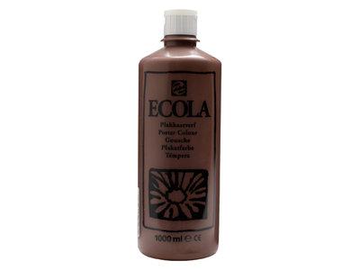 Ecola (Talens Plakkaatverf) 1000 ml nr. 400 Bruin
