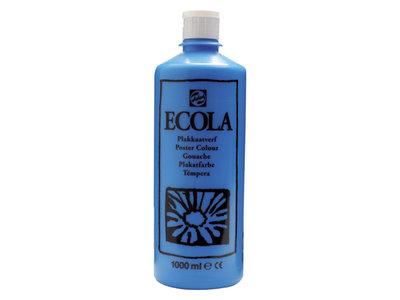 Ecola (Talens Plakkaatverf) 1000 ml nr. 501 LichtBlauw Cyaan