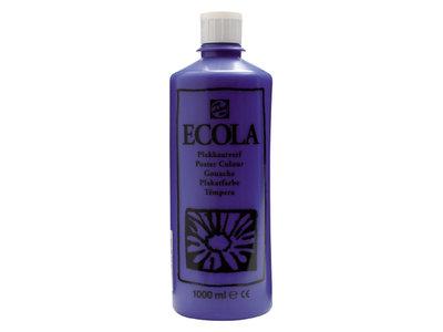 Ecola (Talens Plakkaatverf) 1000 ml nr. 502 DonkerBlauw