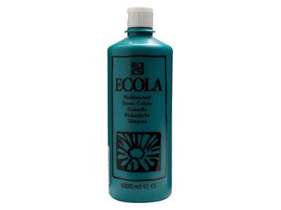 Ecola (Talens Plakkaatverf) 1000 ml nr. 602 Donkergroen