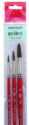 Talens Aquarelverf penselen set Serie 150 150/3